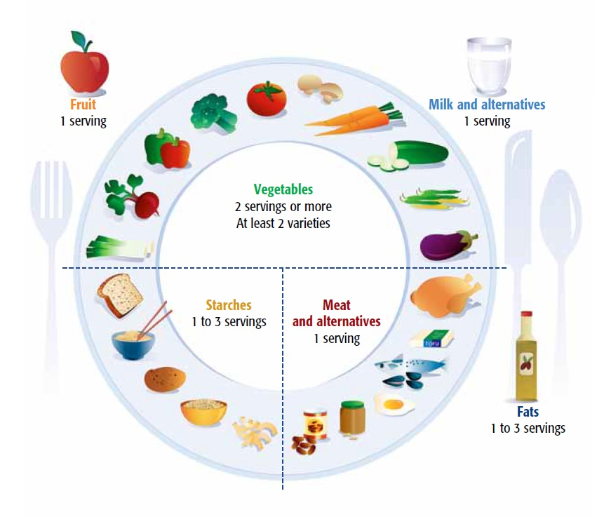 Half Of Your Plate Should Be Composed Vegetables
